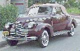 28k photo of 1940 Chevrolet Master (?) convertible coupe