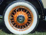 60k photo of 1932 Chevrolet rumbleseat roadster, wheel