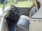 50k photo of 1932 Chevrolet rumbleseat roadster, interior