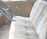 42k photo of 1933 Chevrolet sedan, front seats