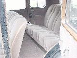 46k photo of 1933 Chevrolet sedan, rear seats