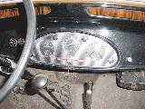54k photo of 1933 Chevrolet sedan, dashboard