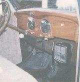 14k photo of 1935 Chrysler C6 Airstream coupe, dashboard