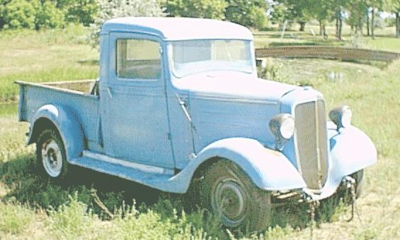 Oldtimer gallery. Trucks. 1936 Chevrolet (USA).