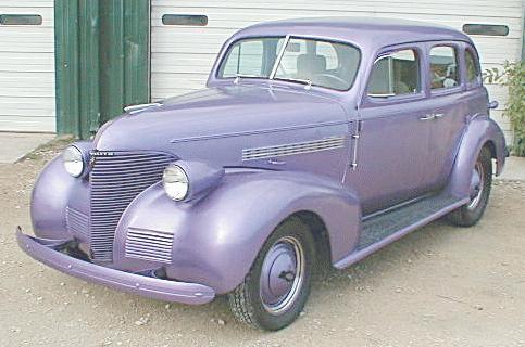 Oldtimer gallery. Cars. 1939 Chevrolet.