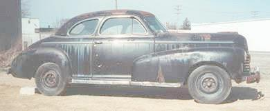 1942 Chevrolet 5-passenger coupe