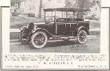 28k photo of 1922 Dodge utility by H.H.Babcock