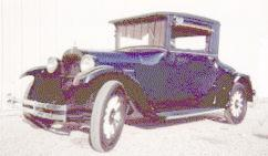 1927 Dodge sport coupe