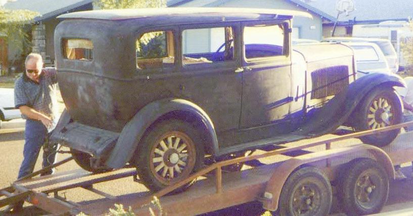 Oldtimer gallery cars 1929 1930 dodge da db for 1929 dodge 4 door sedan