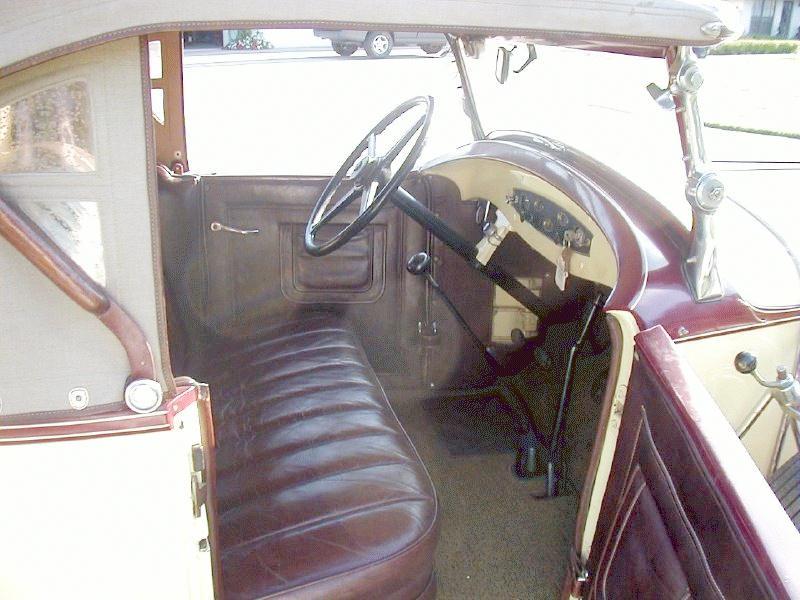 Ddbigsixrsroadster Bay on 1930 Dodge Sedan