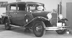 1931 Dodge DG 4-door sedan