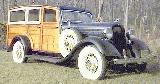 30k photo of 1933 Dodge woody wagon by Cantrell