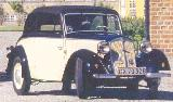 22k photo of DKW F8 Cabriolimousine of Teddy Dideriksen