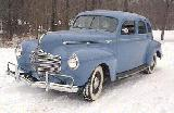 25k photo of 1940 Dodge D14 4-door sedan