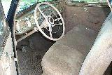 76k photo of 1940 Dodge D17 coupe, dashboard
