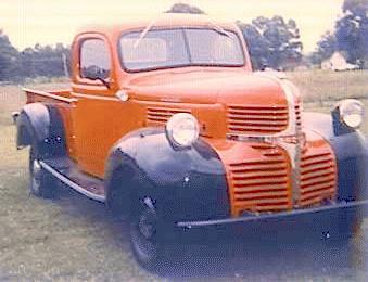 Oldtimer gallery. Trucks. Dodge.