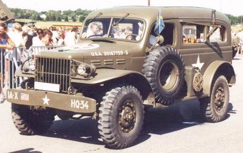 Oldtimer gallery. Trucks (Cars). 1942-1945 Dodge 3/4 (T214) (WC51 ... WC64).