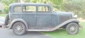 1932 Dodge DL 4-door sedan