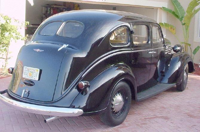 Oldtimer gallery. Cars. 1937 Dodge.