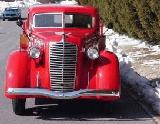 14k photo of 1937 Diamond T stakebed truck