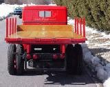 13k photo of 1937 Diamond T stakebed truck