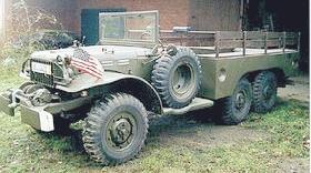 Oldtimer gallery. Trucks (Cars). Dodge T223 (WC62, WC63).