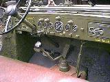 22k photo of 1942 Dodge WC56 with SCR-193 radio, dashboard