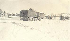 1942 photo of Sd. Kfz. 10, Russia