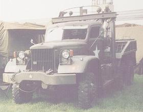 1943 Diamond T 969 hardtop wrecker