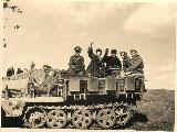 46k VI 1943 photo of Sd. Kfz. 10/4, Russia