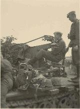 54k WW2 photo of Sd. Kfz. 10/4 of SS with Luftwaffe plates