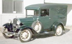 1930 Ford A Panel Truck