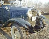 69k photo of 1930 Ford A rumbleseat roadster, radiator
