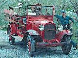 22k image of 1931 Ford AA Fire Truck