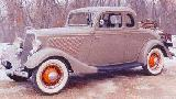 20k photo of 1934 Ford 5-window DeLuxe Coupe