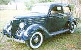 32k photo of 1936 Ford Tudor trunkback Touring Sedan