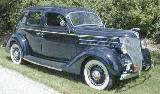 19k photo of 1936 Ford DeLuxe Fordor humpback Sedan