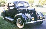 36k photo of 1937 Ford V8 74 Slant Back Tudor Sedan