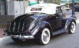 24k photo of 1937 Ford V8 78 DeLuxe Cabriolet