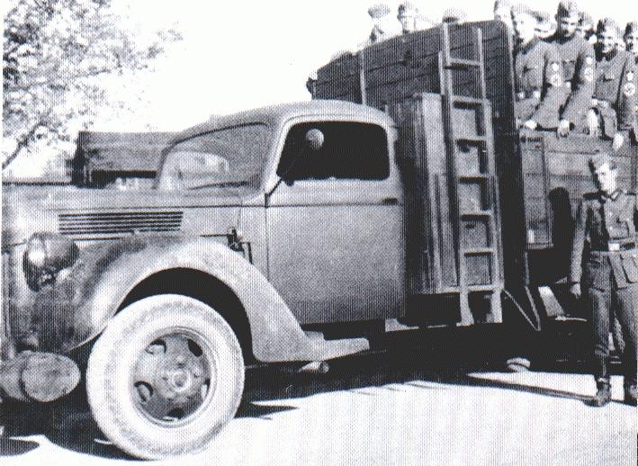 German (Köln) Made Ford Trucks