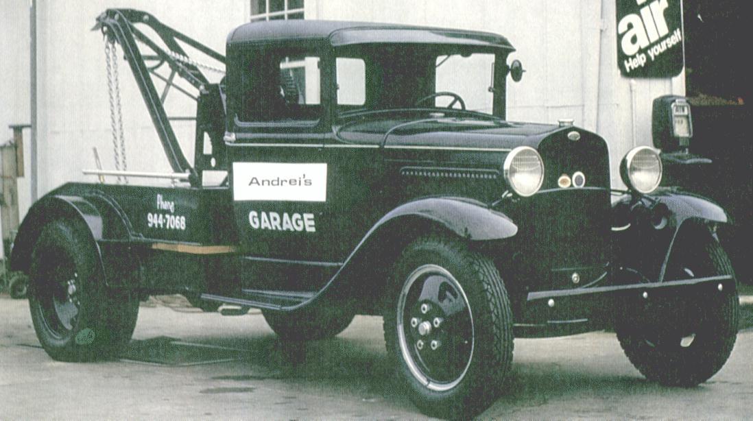 Oldtimer gallery. Trucks. Ford-AA.