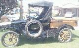 31k photo of 1921 Ford T roadster with optional Ford pickup bed