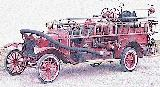37k photo of 1923 Ford TT firetruck