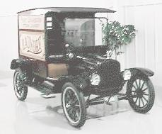 1923 Ford T panel delivery
