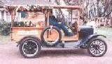 20k photo of 1925 Ford TT woody hack truck
