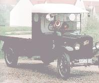 1925 Ford TT flatbed truck