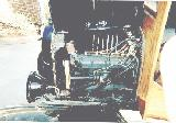 26k photo of 1926 Ford T C-cab truck, engine