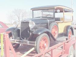 1930 Ford A hack pickup