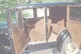 66k photo of 1930 Ford A type 170-B 4-light DeLuxe Briggs sedan, interior