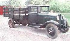 1931 Ford AA stakebody truck